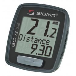Compteur vélo SIGMA BC 8.12 à fil