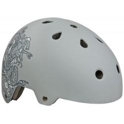 Casque vélo Grex TEC gris (3/4 face)