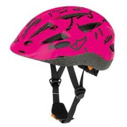 Casque vélo KTM Line Kids Rose