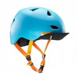 Casque BERN Brentwood Blue Bright Matt