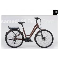 Vélo électrique MOUSTACHE Samedi 28 Brown Open