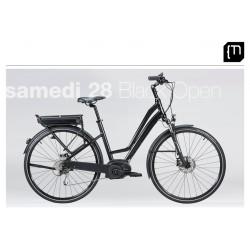 Vélo électrique MOUSTACHE Samedi 28 Black Open