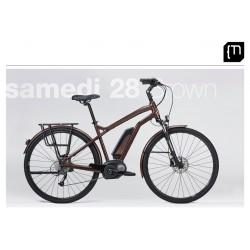 Vélo électrique MOUSTACHE Samedi 28 Brown