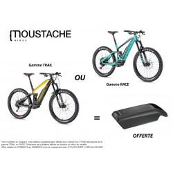 GAMME TRAIL ou RACE de MOUSTACHE avec Batterie offerte !