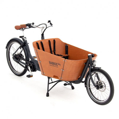 Vélo cargo électrique Babboe City Moutain