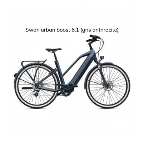 Vélo électrique O2Feel iSwan Urban Boost 6.1