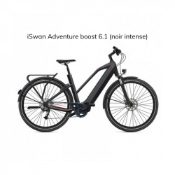 Vélo électrique O2FEEL iSWAN ADVENTURE BOOST 6.1