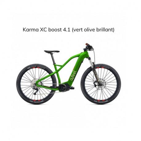 Vélo électrique O2Feel Karma XC Boost 4.1