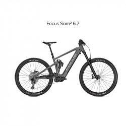 Vélo électrique TOUT SUSPENDUS FOCUS SAM² 6.7