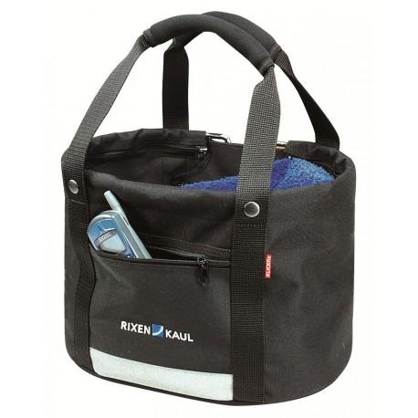 Panier Shopper Confort Mini Noir KLICKfix