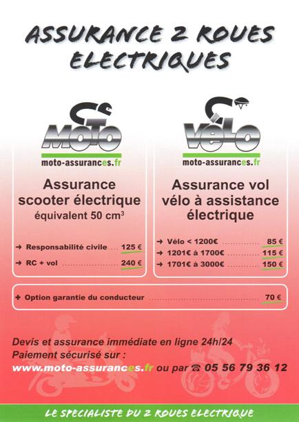 flyer assurance vélo électrique 2014