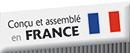 Conçu et Assemblé en France