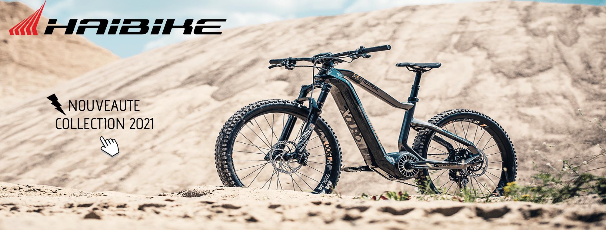 Vélo électrique - Haibike- nouveauté collection 2021