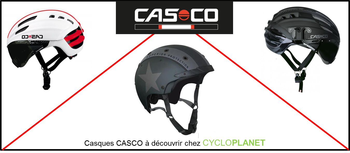 Casques vélo Casco