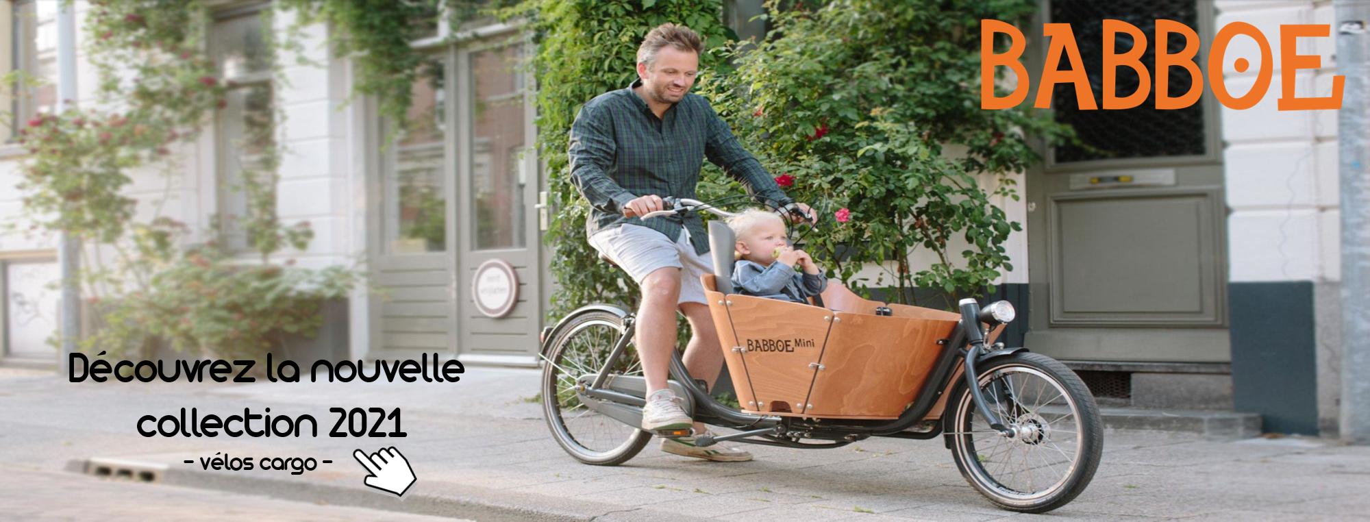Vélos cargo électriques - Babboe collection 2021