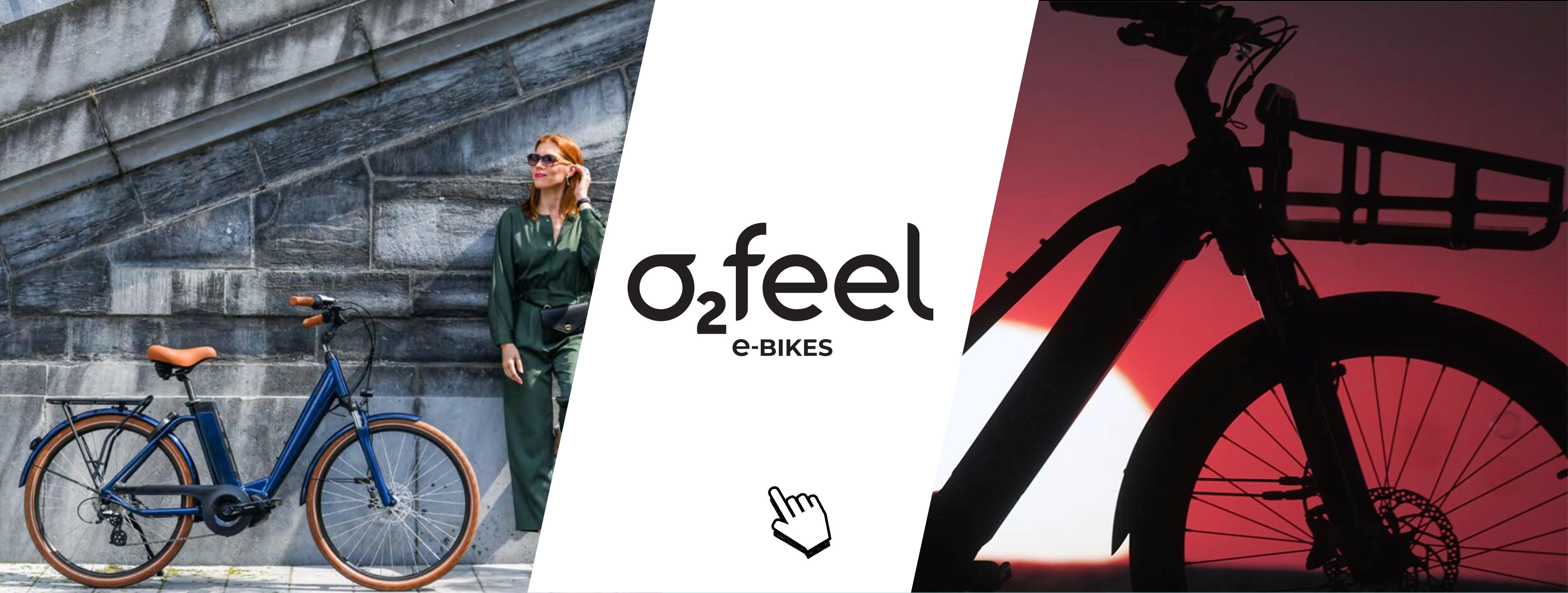 Vélos électriques - O2 FEEL