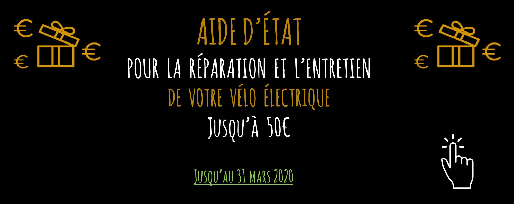 Avec le Réseau Stations Bee's bénéficiez de l'aide d'état jusqu'à 50€ pour la réparation et l'entretien de votre vélo