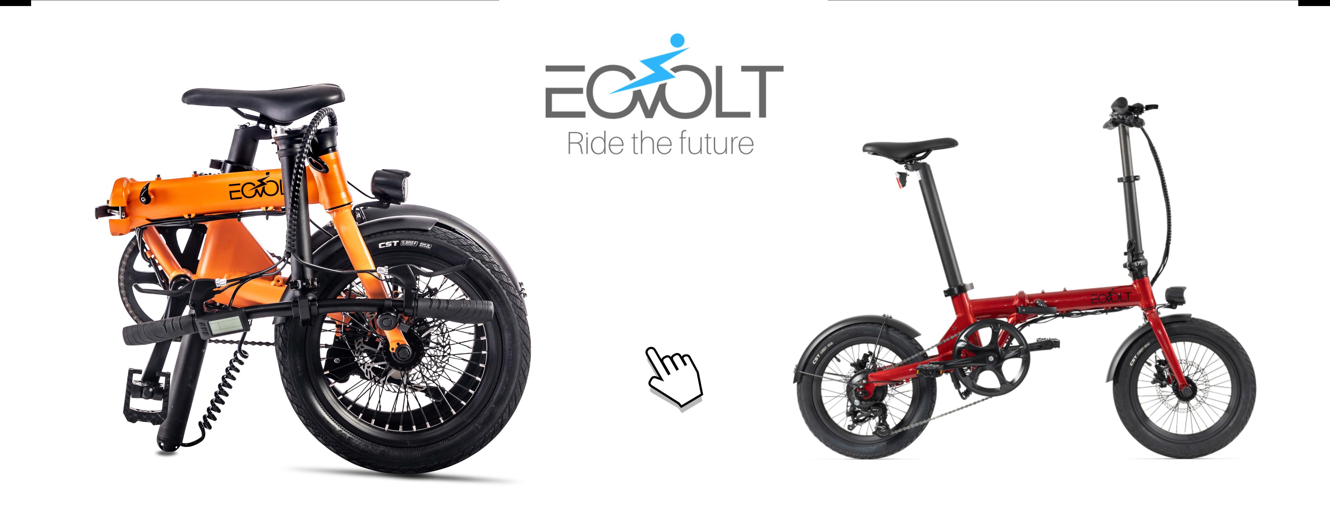 Vélos électriques pliant - EOVOLT