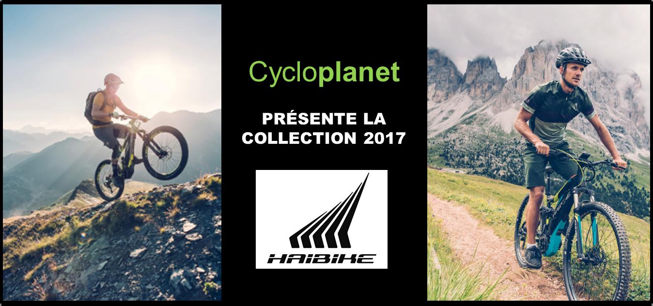 Collection 2017 vélos électriques Haibike