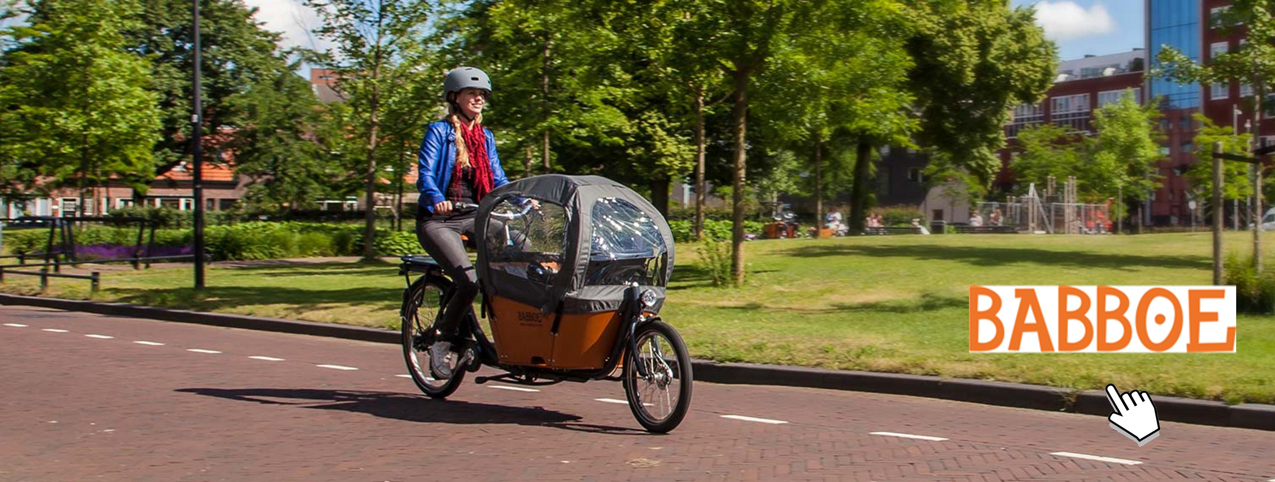 Vélos cargo électriques - Babboe